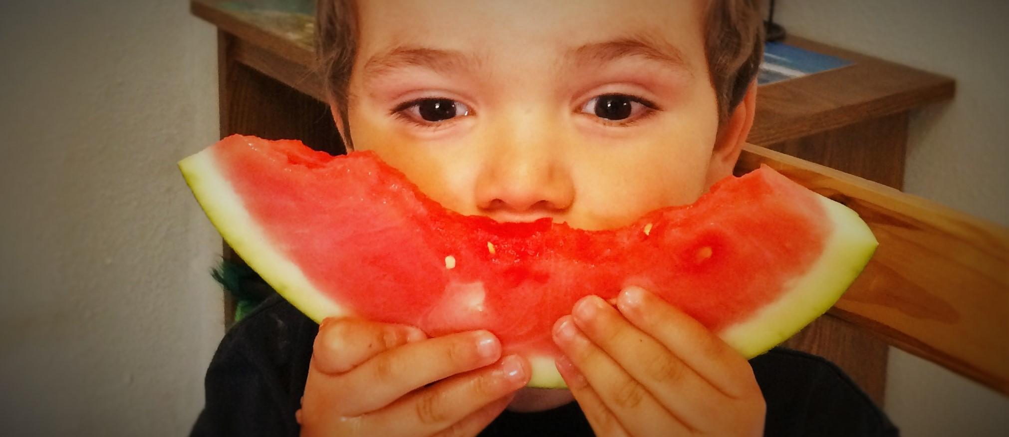 LittleMan Eating Watermelon 1 header