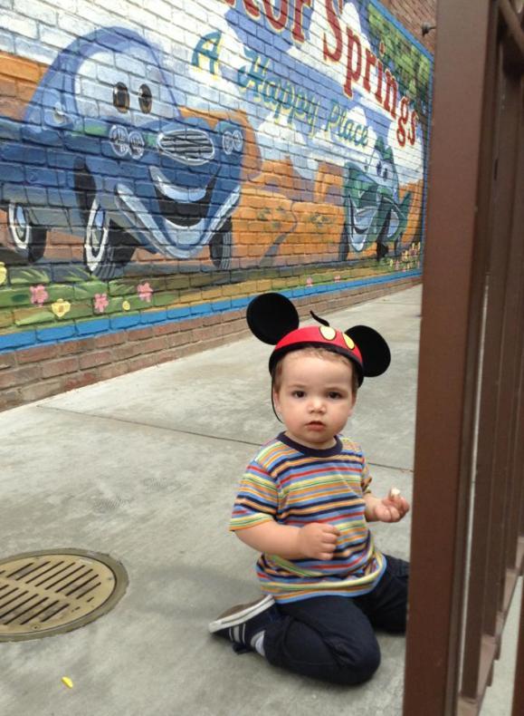LittleMan at Radiator Springs 1