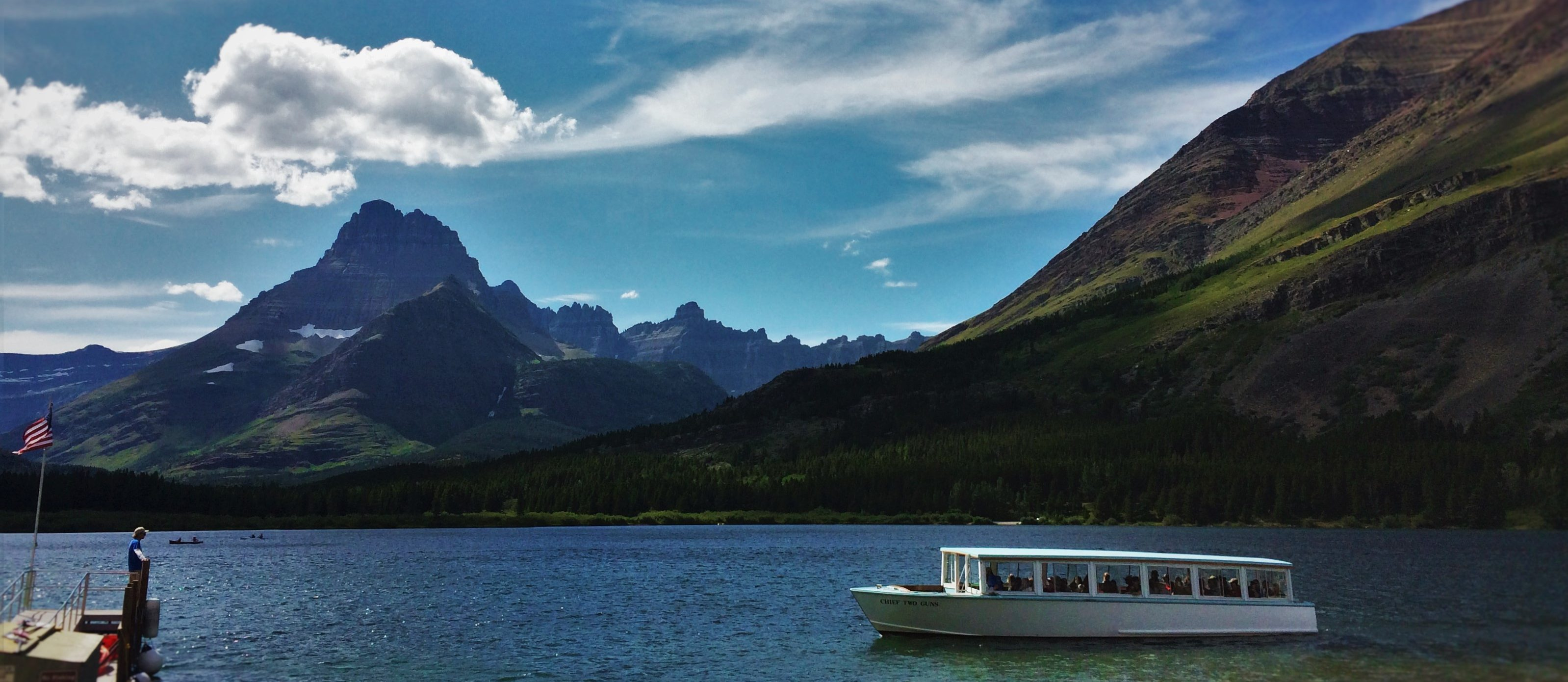 Glacier Park Boat Co on Swiftcurrent Lake in Glacier National Park 4