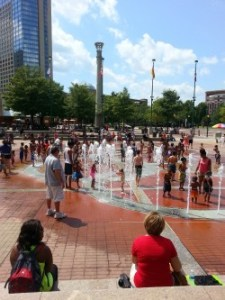 Centenial Park Fountains Atlanta