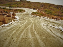 Dirt Road to Beach Baja California Norte