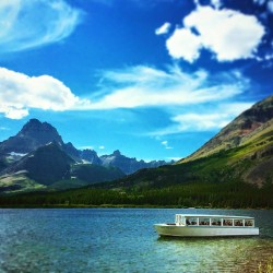 Glacier Park Boat Co Swiftcurrent lake Glacier National Park 2