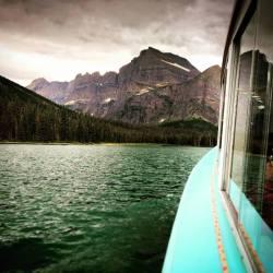 Glacier Park Boat on Lake Josephine Glacier National Park