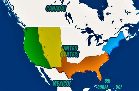Visit USA map