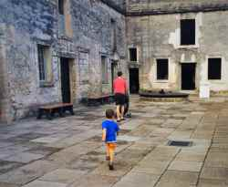 Chris Taylor and Dudes at Castillo San Marcos St Augustine 1