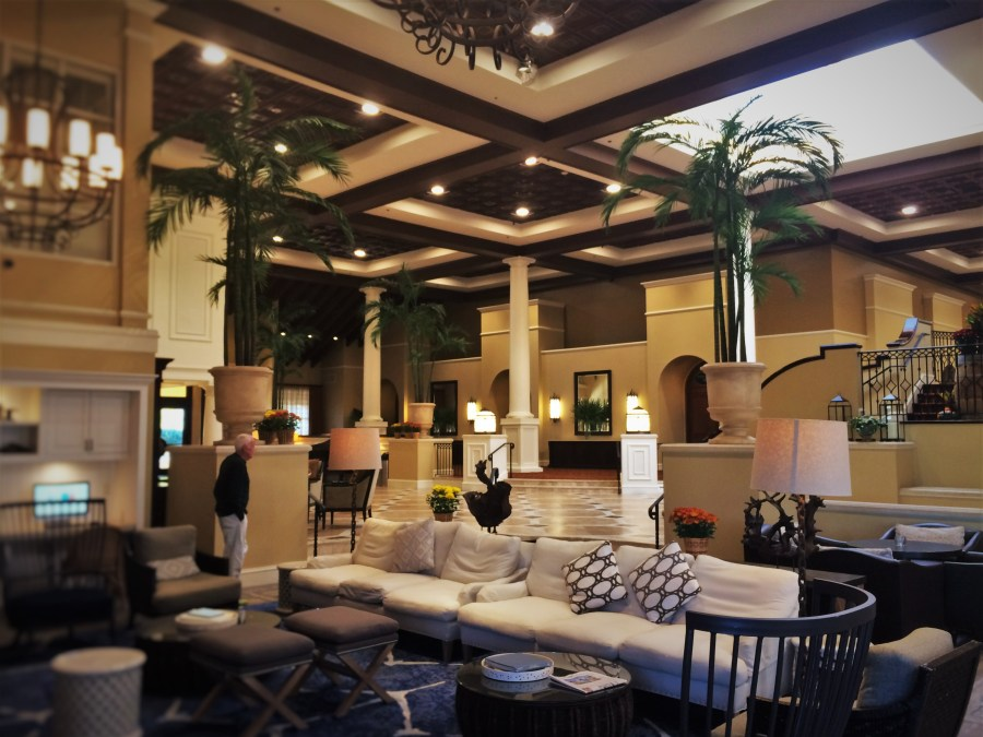 Lobby at King and Prince Resort St Simons GA 2