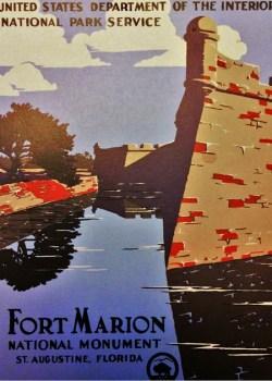 Vintage Fort Marior postcard 2traveldads.com