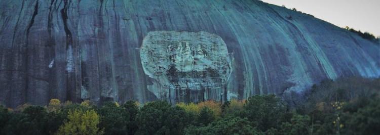 Confederate Relief at Stone Mountain Park in Atlanta Georgia 4 header