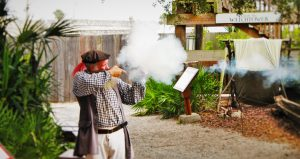Living History in Spanish Colonial Quarter St Augustine FL 3