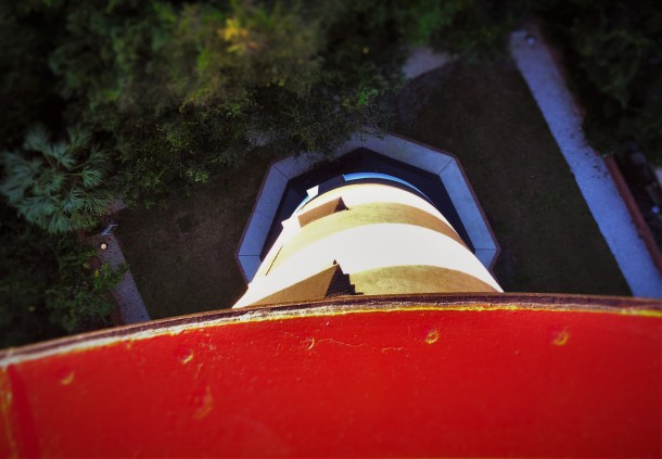 Looking Down from St Augustine Lighthouse 1