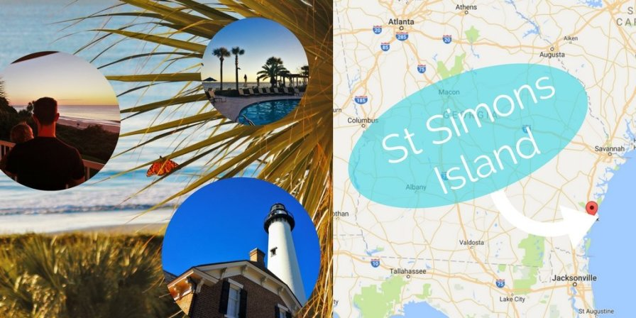 Visit St Simons Island in Georgia's Golden Isles for an ideal family getaway filled with beaches, history, Spanish moss and great food! 2traveldads.com