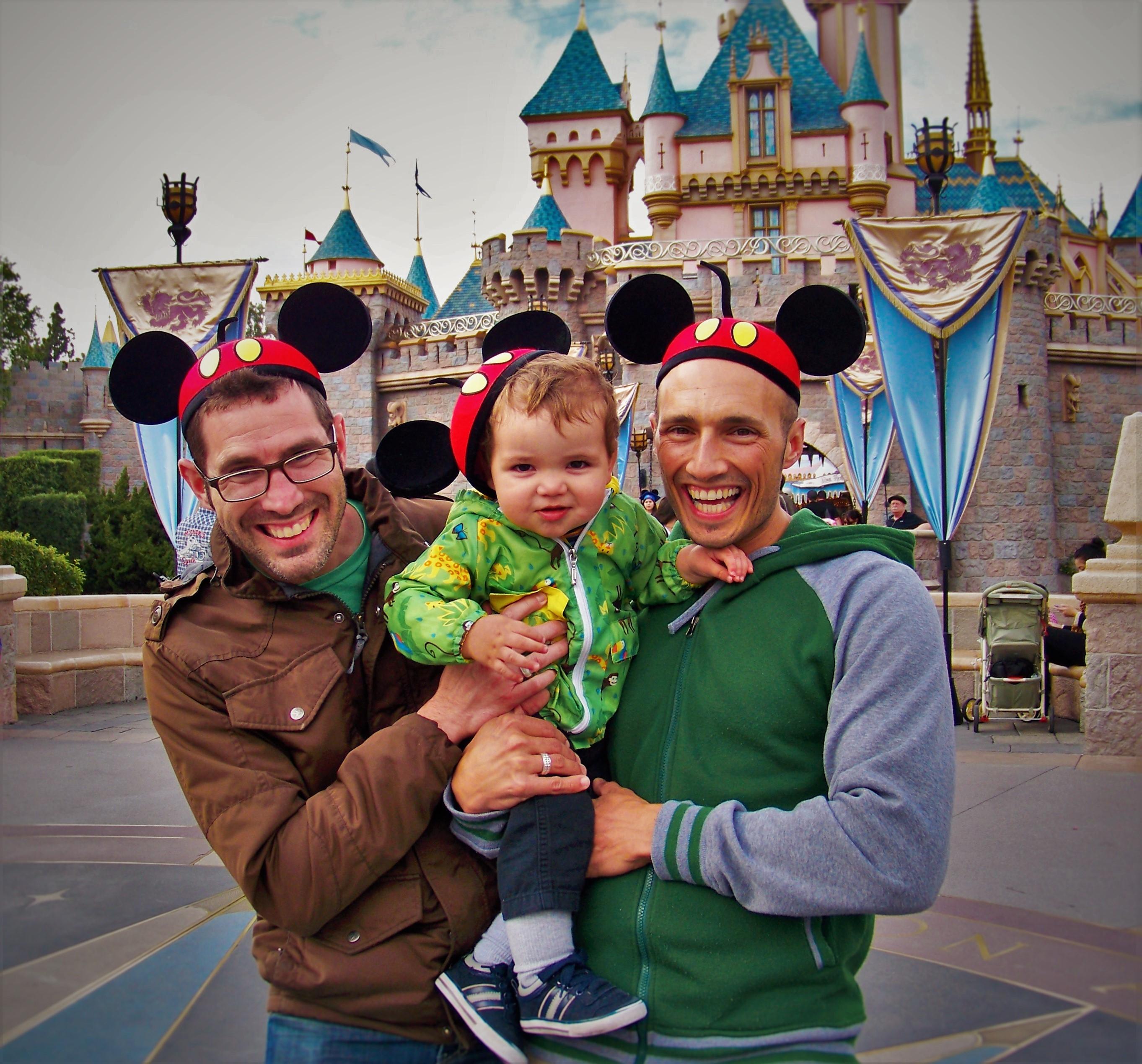 Taylor Family Disneyland Castle 2