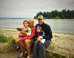 Taylor Family Old Man Beach Suquamish