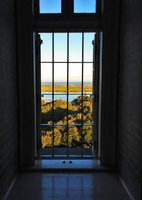 View through Iron Window in St Augustine Lighthouse 1