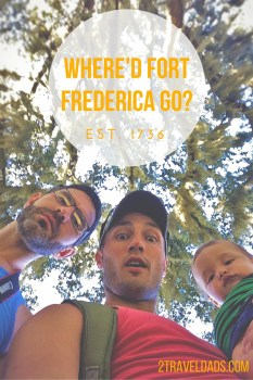 Where'd Fort Frederica Go-