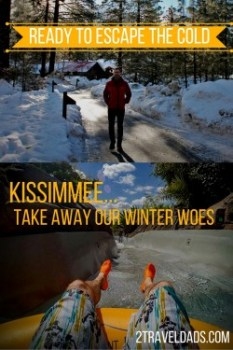 Kissimmee escape the cold pin