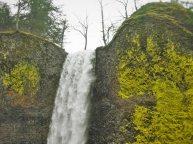 Top of Latourell Falls Columbia Gorge Oregon