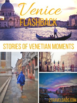 Everybody has a different experience in Venice. 2 Travel Dads got lost, got stuck in a monsoon and found the most beautiful Venetian night. See why Venice was actually magical. 2traveldads.com