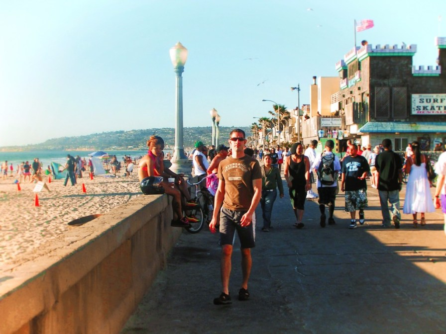 Chris Taylor at Mission Beach San Diego 1