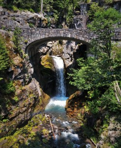 Christine Falls in Mount Rainier National Park 2traveldads.com