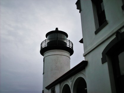 Lantern Tower at Admiralty Head Lighthouse Whidbey Island Washington 1