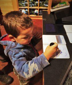 LittleMan Stamping National Park Passport 2