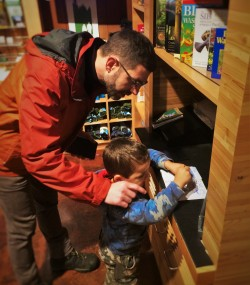 LittleMan Stamping National Park Passport 2traveldads.com