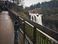 LittleMan and Snoqualmie Falls Washington 3