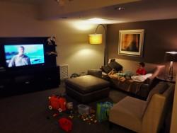 LittleMan in Luxury Suite at Westin Seattle 1