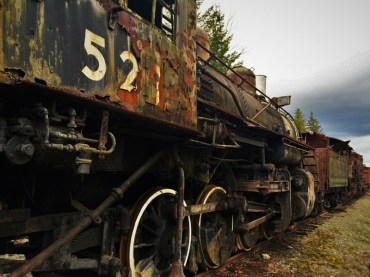 Old Steam Engine Snoqualmie 3