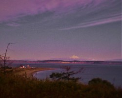 Point Wilson Lighthouse at Sunset Port Townsend 1