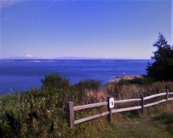 Point Wilson Lighthouse from Bluff Port Townsend