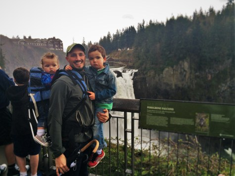 Rob Taylor and Dudes at Snoqualmie Falls 3