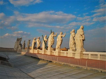 Statues of Piazza de San Pietro from Lisa Truemper Scott 1