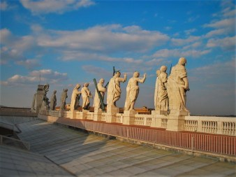 Statues of Piazza de San Pietro from Lisa Truemper Scott 1