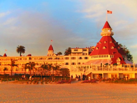 Sunset at the Hotel Del Coronado San Diego 3