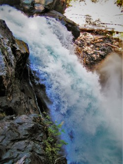 Upper Christine Falls in Mt Rainier National Park 2traveldads.com