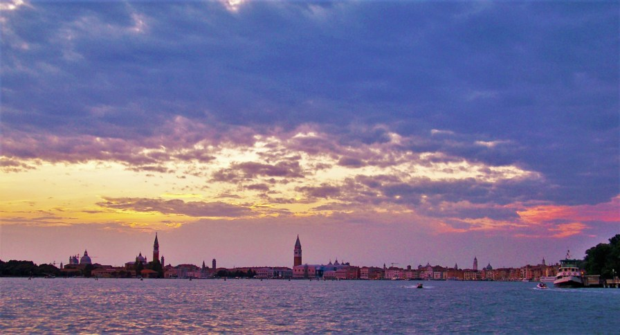 Venetian Sunset Venice from Lido 3