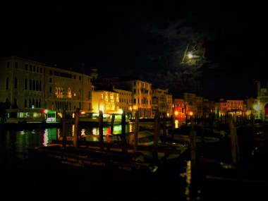 Venice Canal at Night 2