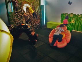 LittleMan and Indoor Playground at the Butterfly Pavilion Denver Colorado 2