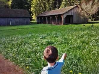 LittleMan and Sheep barn at Bloedel Reserve Bainbridge Island 1