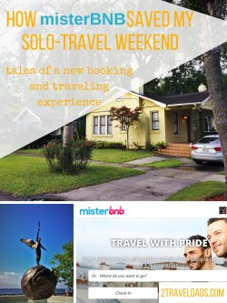 MisterBNB was an awesome option and experience for a solo travel weekend to Jacksonville, Florida. Perfect! 2traveldads.com
