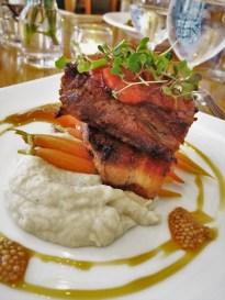 Pork Belly at Restaurant 301 at Carter House Inn Eureka 2