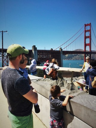 Chris Taylor and Dudes at Golden Gate Bridge from Welcome Center GGNRA 1