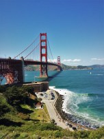 Fort Point and East Side of Golden Gate Bridge from Welcome Center GGNRA 1