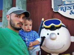Rob Taylor and Tiny Man at Fishertarian Bodega Bay 3