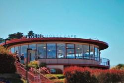Round House Cafe at Golden Gate Bridge San Francisco