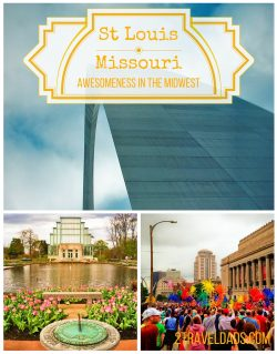 St Louis is a pretty cool city, especially for families; even to celebrate PrideFest. Explore St Louis! 2traveldads.com