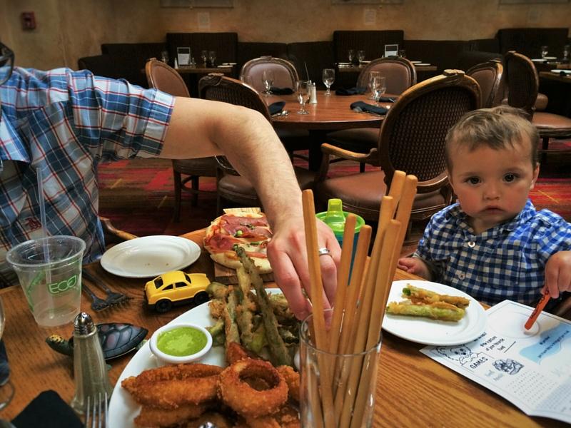 TinyMan in Sierra Restaurant at Tenaya Lodge Yosemite 2traveldads.com