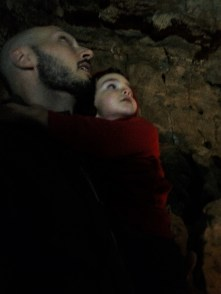 LittleMan at Oregon Caves National Monument in cavern